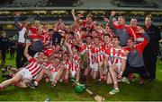 22 October 2017; Imokilly players celebrate with the cup after the Cork County Senior Hurling Championship Final match between Blackrock and Imokilly at Páirc Uí Chaoimh in Cork. Photo by Eóin Noonan/Sportsfile