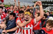 22 October 2017; John Cronin of Imokilly celebrates after the Cork County Senior Hurling Championship Final match between Blackrock and Imokilly at Páirc Uí Chaoimh in Cork. Photo by Eóin Noonan/Sportsfile