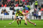 22 October 2017; David Cashman of Blackrock in action against Gary Norberg of Imokilly during the Cork County Senior Hurling Championship Final match between Blackrock and Imokilly at Páirc Uí Chaoimh in Cork. Photo by Eóin Noonan/Sportsfile