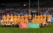 22 October 2017; The Castlebar Mitchels squad prior to the Mayo County Senior Football Championship Final match between Ballintubber and Castlebar Mitchels at Elvery's MacHale Park in Castlebar, Mayo. Photo by Stephen McCarthy/Sportsfile