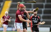 22 October 2017; Daithi Waters of St Martin's in action against David Redmond of Oulart-The Ballagh during the Wexford County Senior Hurling Championship Final match between Oulart-The Ballagh and St Martin's GAA Club at Innovate Wexford Park in Wexford. Photo by Matt Browne/Sportsfile