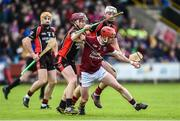 22 October 2017; Willie Devereux of St Martin's in action against Nicky Kirwan and Martin Og Storey of Oulart-The Ballagh during the Wexford County Senior Hurling Championship Final match between Oulart-The Ballagh and St Martin's GAA Club at Innovate Wexford Park in Wexford. Photo by Matt Browne/Sportsfile