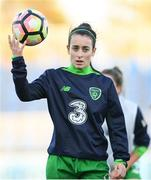 24 October 2017; Roma McLaughlin of the Republic of Ireland prior to the 2019 FIFA Women's World Cup Qualifier Group 3 match between Slovakia and Republic of Ireland at the National Training Centre in Senec, Slovakia. Photo by Stephen McCarthy/Sportsfile