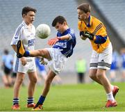 25 October 2017; Fergal Dunlea of Bishop Galvin NS Templeogue in action against Cillian Clark of St Patrick's NS Diswellstown during day 1 of the Allianz Cumann na mBunscol Finals at Croke Park, in Dublin. Photo by Evie O'Brien/Sportsfile