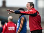 28 October 2017; Cuala manager Mattie Kenny during the Dublin County Senior Club Hurling Championship Final match between Cuala and Kilmacud Crokes at Parnell Park in Dublin. Photo by Matt Browne/Sportsfile