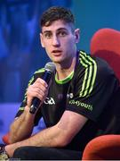 28 October 2017; Kerry footballer Paul Geaney during a Q&A session at the #GAAyouth Forum 2017 at Croke Park in Dublin. Photo by Cody Glenn/Sportsfile