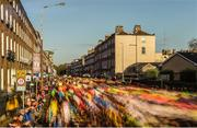 29 October 2017; A view of the 20,000 runners who took to the Fitzwilliam Square start line to participate in the 38th running of the SSE Airtricity Dublin Marathon, making it the fifth largest marathon in Europe. Photo by Ramsey Cardy/Sportsfile