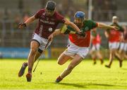 29 October 2017; Eoin Gough of Dicksboro in action against Tomas Keogh of James Stephens during the Kilkenny County Senior Hurling Championship Final match between Dicksboro and James Stephens at Nowlan Park in Kilkenny. Photo by Ray McManus/Sportsfile