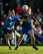 29 October 2017; Barry Dardis of Summerhill in action against Brian McGrath of Simonstown Gaels during the Meath County Senior Football Championship Final match between Simonstown Gaels and Summerhill at Páirc Tailteann, Navan in Co Meath. Photo by Piaras Ó Mídheach/Sportsfile