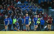 29 October 2017; Thurles Sarsfields players John Maher, Aidan McCormack, Padraic Maher, and Tommy Doyle watch a point go over the bar from David O'Sullivan of Ballygunner, right, during the AIB Munster GAA Hurling Senior Club Championship Quarter-Final match between Ballygunner and Thurles Sarsfields at Walsh Park in Waterford. Photo by Diarmuid Greene/Sportsfile