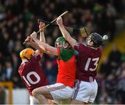 29 October 2017; Oisín Gough, left, and Martin Gaffney of Dicksboro in action against Donnacha Cody of James Stephens during the Kilkenny County Senior Hurling Championship Final match between Dicksboro and James Stephens at Nowlan Park in Kilkenny. Photo by Ray McManus/Sportsfile