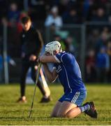 29 October 2017; Ronan Maher of Thurles Sarsfields reacts after the AIB Munster GAA Hurling Senior Club Championship Quarter-Final match between Ballygunner and Thurles Sarsfields at Walsh Park in Waterford. Photo by Diarmuid Greene/Sportsfile