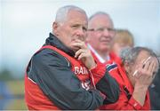 25 August 2012; Cork manager Eamonn Ryan during the game. TG4 All-Ireland Ladies Football Senior Championship Quarter-Final, Cork v Donegal, Dr. Hyde Park, Co. Roscommon. Picture credit: Barry Cregg / SPORTSFILE