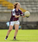 25 August 2012; Katie Carter, Galway. All Ireland U16 'A' Championship Final, Cork v Galway, MacDonagh Park, Nenagh, Co. Tipperary. Picture credit: Matt Browne / SPORTSFILE