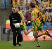 26 August 2012; Jim McGuinness, Donegal Manager. GAA Football All-Ireland Senior Championship Semi-Final, Cork v Donegal, Croke Park, Dublin. Picture credit: Oliver McVeigh / SPORTSFILE