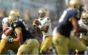 1 September 2012; Everett Golson, Notre Dame, Quarterback. NCAA Emerald Isle Classic, Navy v Notre Dame, Aviva Stadium, Lansdowne Road, Dublin. Picture credit: Pat Murphy / SPORTSFILE