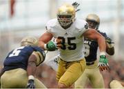 1 September 2012; Troy Niklas, Notre Dame. NCAA Emerald Isle Classic, Navy v Notre Dame, Aviva Stadium, Lansdowne Road, Dublin. Picture credit: Pat Murphy / SPORTSFILE