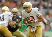 1 September 2012; Andrew Hendrix, Notre Dame, Quarterback. NCAA Emerald Isle Classic, Navy v Notre Dame, Aviva Stadium, Lansdowne Road, Dublin. Picture credit: Pat Murphy / SPORTSFILE