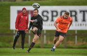 30 October 2017; JJ Hanrahan of Munster during Munster Rugby Squad Training at the University of Limerick in Limerick. Photo by Diarmuid Greene/Sportsfile