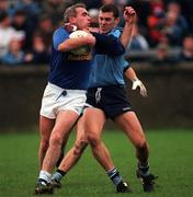 Dublin v Cavan 30/11/1997 Bernard Morris (C) and Ciaran Whelan (D) Photograph Ray McManus SPORTSFILE