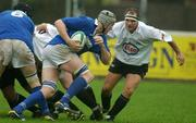 2 November 2002; Paul Kelly, St. Marys, in action against Jerry Murray, Cork Constitution. Cork Constitution v St. Marys, AIB League, Division 1, Temple Hill, Cork. Rugby. Picture credit; Matt Browne / SPORTSFILE  *EDI*