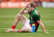 23 September 2012; A dejected Keith Higgins, Mayo, at the end of the game. GAA Football All-Ireland Senior Championship Final, Donegal v Mayo, Croke Park, Dublin. Picture credit: David Maher / SPORTSFILE