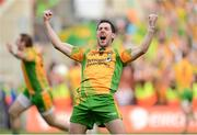 23 September 2012; Mark McHugh, Donegal, reacts at the final whistle. GAA Football All-Ireland Senior Championship Final, Donegal v Mayo, Croke Park, Dublin. Picture credit: Oliver McVeigh / SPORTSFILE