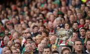 23 September 2012; A general view of the Sam Maguire Cup during the game. GAA Football All-Ireland Senior Championship Final, Donegal v Mayo, Croke Park, Dublin. Picture credit: Oliver McVeigh / SPORTSFILE