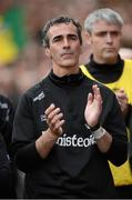 23 September 2012; Jim McGuinness, Donegal manager. GAA Football All-Ireland Senior Championship Final, Donegal v Mayo, Croke Park, Dublin. Picture credit: Oliver McVeigh / SPORTSFILE