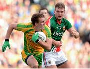 23 September 2012; Eamon McGee, Donegal, in action against Aidan O'Shea, Mayo. GAA Football All-Ireland Senior Championship Final, Donegal v Mayo, Croke Park, Dublin. Picture credit: Oliver McVeigh / SPORTSFILE