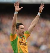 23 September 2012; Rory Kavanagh, Donegal. GAA Football All-Ireland Senior Championship Final, Donegal v Mayo, Croke Park, Dublin. Picture credit: Oliver McVeigh / SPORTSFILE
