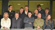 23 September 2012; Glasgow Celtic manager Neil Lennon, back row, 3rd from left, in attendance at the game. GAA Football All-Ireland Senior Championship Final, Donegal v Mayo, Croke Park, Dublin. Picture credit: Brendan Moran / SPORTSFILE