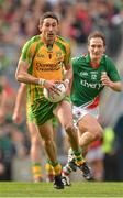 23 September 2012; Rory Kavanagh, Donegal, in action against Alan Dillon, Mayo. GAA Football All-Ireland Senior Championship Final, Donegal v Mayo, Croke Park, Dublin. Picture credit: Brendan Moran / SPORTSFILE