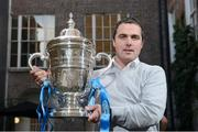 3 October 2012; In attendance at the 2012 Ford FAI Cup Semi-Finals Media Day is Dundalk manager Darius Kierans. Ely Place, Dublin. Picture credit: David Maher / SPORTSFILE