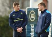 30 October 2017; Garry Ringrose with Jordi Murphy during Leinster Rugby Squad Training at UCD, Belfield in Dublin. Photo by Matt Browne/Sportsfile