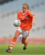 7 October 2012; Marian McGuinness, Armagh. TG4 All-Ireland Ladies Football Intermediate Championship Final, Armagh v Waterford, Croke Park, Dublin. Picture credit: Brendan Moran / SPORTSFILE