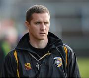 14 October 2012; Tony McEntee, Crossmaglen Rangers manager. Armagh County Senior Football Championship Final, Crossmaglen Rangers v Pearse Og, Morgan Athletic Grounds, Armagh. Picture credit: Oliver McVeigh / SPORTSFILE