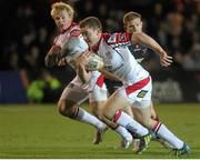 26 October 2012; Paddy Jackson, Ulster. Celtic League 2012/13, Round 7, Newport Gwent Dragons v Ulster, Rodney Parade, Newport, Wales. Picture credit: Steve Pope / SPORTSFILE