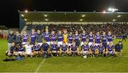 29 October 2012; The Kilmacud Crokes squad, back row, from left to right, Ray Cosgrove, Declan Kelleher, Brian McGrath, Brian Hanamy, Nicky McGrath, Pat Duggan, Johnny Magee, Mark Coughlan, David Nestor, Craig Dias, Rory O'Carroll, Darren Magee, Stephen Williams, Cian O'Sullivan, Barry O'Rorke, and Ross O'Carroll. Front row, from left to right, Mark Vaughan, Ronan Ryan, Gavin Morris, Mark O'Dwyer, Karl Dias, Eoin Culligan, Kevin Nolan, Liam Óg Ó hÉineacháin, Adrian Morrissey, Paul Mannion, Ryan O'Dwyer, Pat Burke and Conor Lamb. Dublin County Senior Football Championship Final, Ballymun Kickhams v Kilmacud Crokes, Parnell Park, Dublin. Picture credit: Dáire Brennan / SPORTSFILE