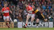 28 October 2012; Colm Benny Moriarty, Dingle, in action against Ambrose O'Donovan, Dr. Crokes. Kerry County Senior Football Championship Final, Dingle v Dr. Crokes, Austin Stack Park, Tralee, Co. Kerry. Picture credit: Stephen McCarthy / SPORTSFILE