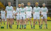 11 November 2012; The Ballyhale Shamrocks forwards, from left, Henry Shefflin, James 'Cha' Fitzpatrick, Conor Walsh, Eoin Reid, Colin Fennelly and Mark Aylward. Kilkenny County Senior Club Hurling Championship Final, Ballyhale Shamrocks v Dicksboro, Nowlan Park, Kilkenny. Picture credit: Brendan Moran / SPORTSFILE