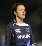 23 November 2012; Aoife Ryan, Leinster. Challenge Match, Leinster Women v Exiles, Ashbourne RFC, Ashbourne, Co. Meath. Picture credit: Matt Browne / SPORTSFILE