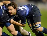 23 November 2012; Carmela Morey, Leinster. Challenge Match, Leinster Women v Exiles, Ashbourne RFC, Ashbourne, Co. Meath. Picture credit: Matt Browne / SPORTSFILE