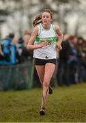 25 November 2012; Niamh Corry, Raheny A.C., Co. Dublin, competing in the Girl's Under 16 4,000m at the Woodie's DIY Juvenile and Inter County Cross Country Championships. Tattersalls, Ratoath, Co. Meath. Picture credit: Paul Mohan / SPORTSFILE