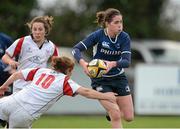 8 December 2012; Nora Stapleton, Leinster, is tackled by Grace Davitt, Ulster. Women's Interprovincial, Leinster v Ulster, Ashbourne RFC, Ashbourne, Co. Meath. Picture credit: Matt Browne / SPORTSFILE