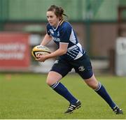 8 December 2012; Kim Flood, Leinster. Women's Interprovincial, Leinster v Ulster, Ashbourne RFC, Ashbourne, Co. Meath. Picture credit: Matt Browne / SPORTSFILE