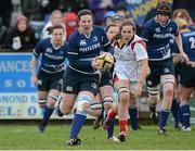 8 December 2012; Paula Fitzpatrick, Leinster. Women's Interprovincial, Leinster v Ulster, Ashbourne RFC, Ashbourne, Co. Meath. Picture credit: Matt Browne / SPORTSFILE