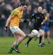 6 January 2013; Paddy McGowan, Leitrim. Connacht FBD League, Section B, Roscommon v Leitrim, Elphin GAA Club, Elphin, Co. Roscommon. Picture credit: David Maher / SPORTSFILE