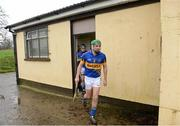 13 January 2013; Tipperary's Noel McGrath leads his team out for the start of the game. Inter-County Challenge Match, Tipperary v Offaly, Templemore, Co. Tipperary. Picture credit: Matt Browne / SPORTSFILE