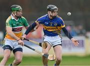13 January 2013; Paul Curran, Tipperary, in action against Joe Bergin, Offaly. Inter-County Challenge Match, Tipperary v Offaly, Templemore, Co. Tipperary. Picture credit: Matt Browne / SPORTSFILE